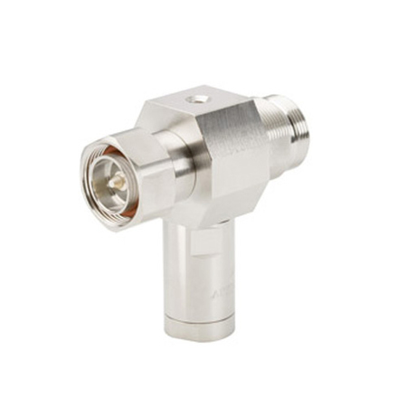 Product image of CommScope APTDC-BDFDM-DB .8-2.4 GHz DC PASS GAS TUBE SURGE PROT. BLKHD DIN-F/DIN-M