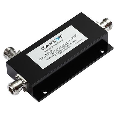 Product image of CommScope C-30-CPUSE-N-A 698-2700 MHz 30 dB, Air Directional Coupler, N-Females