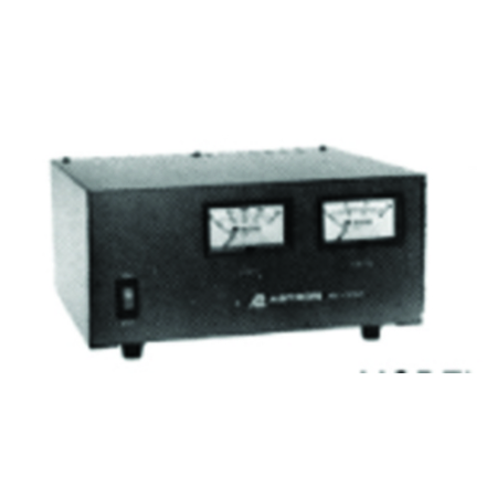 Product image of Astron RS70M 12VDC Output Table Top Power Supply w/Meters