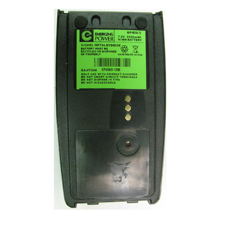 Product image of Emerging Power EP406/3 7.2V, 2500mAh NiMH Battery Harris, M/A COM P5400