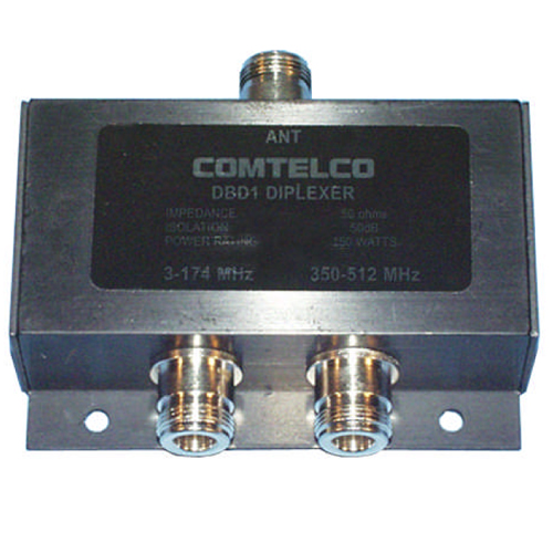 Product image of Comtelco DBD1 3-174/350-512MHz 150 Watt Dir Coupler, N Female Connector