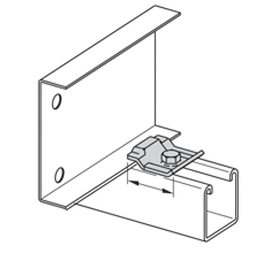 Product image of B-Line by Eaton 9G-1205 Cable Tray Clamp
