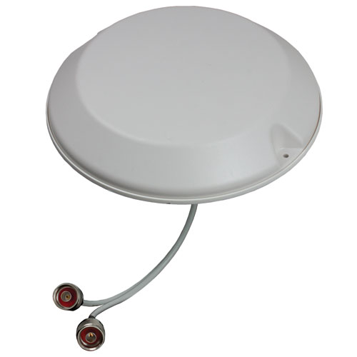 Product image of Laird CMD69273P-30NF 698-960/1710-2700 MHz Low PIM 2-Port MIMO Ceiling Mt Antenna