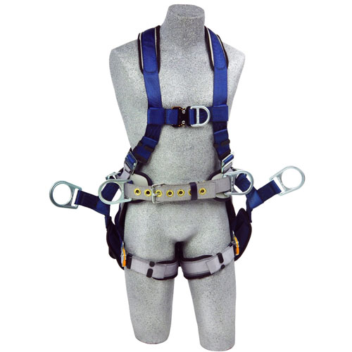 Product image of DBI Sala 1108650 Exofit™ Tower Harness QC Straps, 6 D-Rings Sling Seat, Small