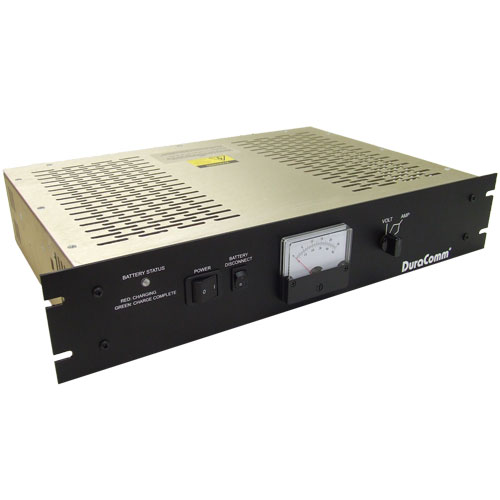 Product image of DuraComm Corporation RLP-4012BBSCLVD-MU 12V 40A Rack Mnt Power Supply BBU Smrt Chrg/Lvd Monitor/cont