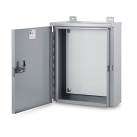 Ab 242412wl 9 wb 24 x 24 x 12 galvanized nema 3r box - Outdoor electrical enclosures cabinets ...