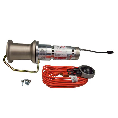 Product image of Hubbell Power C3081170 1000 lb Capstan, 115Vac, Foot Switch Included