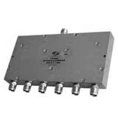 Product image of MECA 806-6-1.700V .698-2.7 GHz 6-Way Pwr Divider Combiner, TNC Female Ports