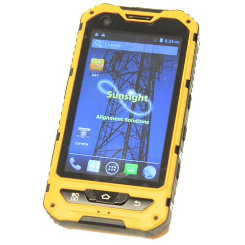 Product image of Sunsight Instruments 4100 Browser Enabled Android Smart Phone, Rugged, IP68 Waterproof