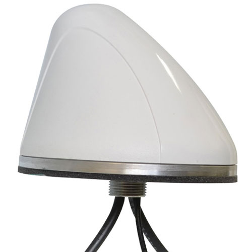 Product image of Mobile Mark SMW-301-3C3A2A-WHT .800-6.0GHz, Multiband Surface Mount Antenna, White