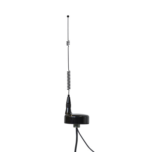 Product image of Mobile Mark SMX-U15-1A2C-BLK-180 .824-.894/1.85-1.99GHz TriBand 15' RG58 w/TNC, GPS w/SMA