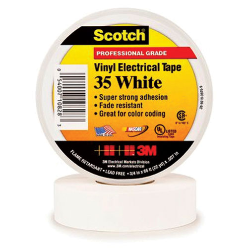 Product image of 3M 35-WHITE3/4X66