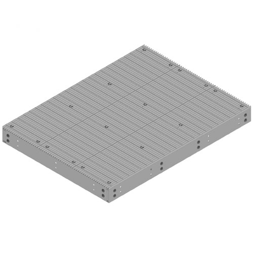 Product image of MTS Wireless EQ-P0610-B 6' x 10' Equipment Platform, Base Only