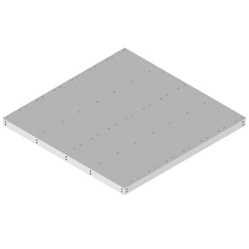 Product image of MTS Wireless EQ-P1416-B 14' x 16' Equipment Platform, Base Only
