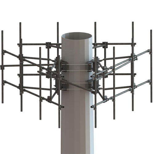 Product image of MTS Wireless MCG23-12M-12-126 Gen 2, 3-Sector Frame, M'Pole 12'-6
