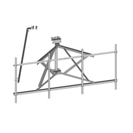 Product image of MTS Wireless SF-SU14-B-NH 14.5' Face Twr Standoff Sector Frame No Pipes or Leg Mt