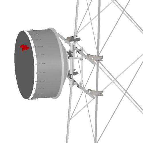 Product image of MTS Wireless TF-M2-14 MW Ant, 14'W Tower Face Mnt, 2 x 2-3/8