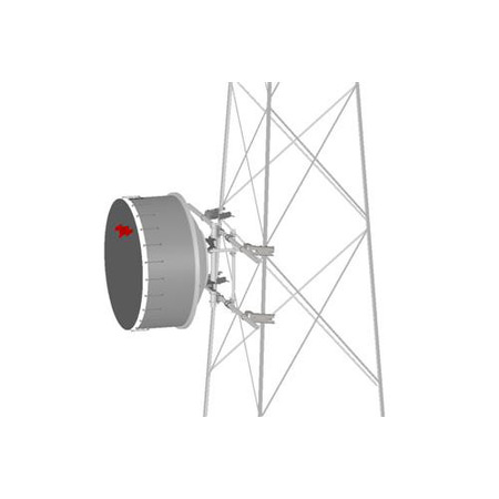 Product image of MTS Wireless TF-M2-20 MW Ant, 20'W Tower Face Mnt, 2 x 2-3/8