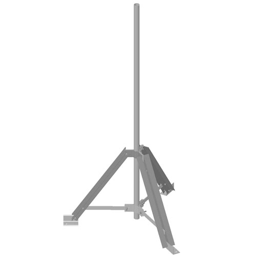 Product image of MTS Wireless TP-G300-B Univ Rooftop Tripod Mount for 2-7/8
