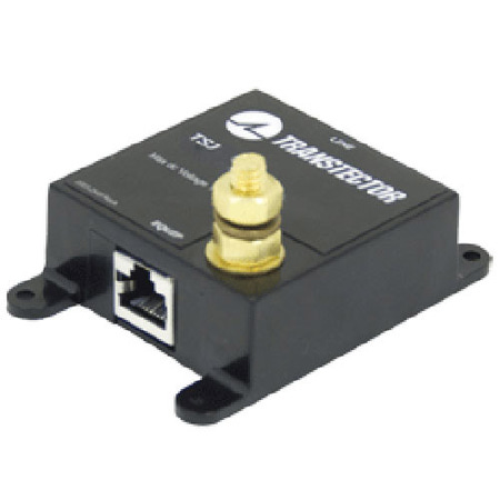 Product image of Transtector 1101-990 GIG-E, Single Port, Shielded Jack