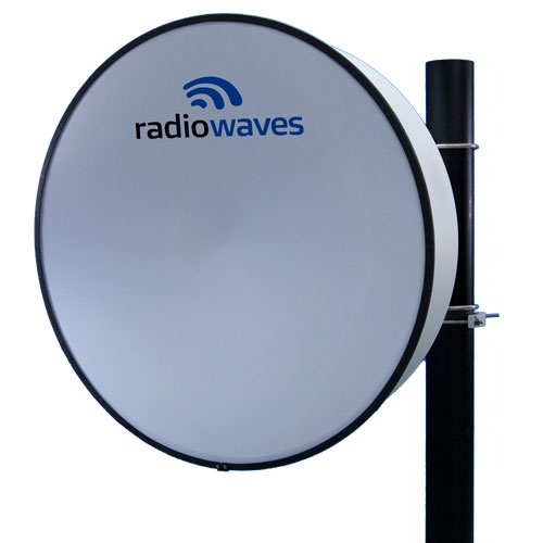 Product image of RadioWaves HP3-11EX 10.7-11.7 GHz, 2.2dB, 3', HP Ant,Plan Pol w/Exalt Interface