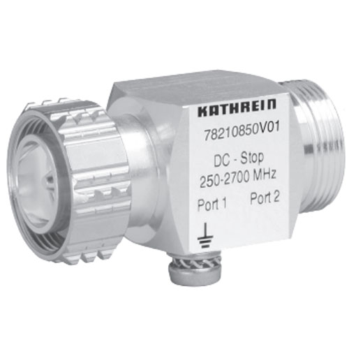 Product image of Kathrein 782-10850V01 250-2700 MHz 50 Ohm DC Stop