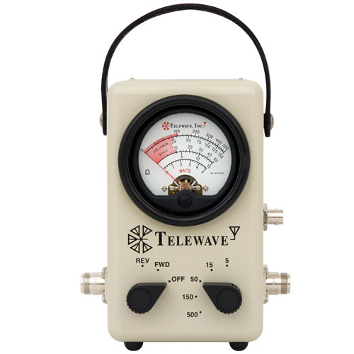 Product image of Telewave 44AP-N 25-1000MHz RF Watt Meter, Sampler Port, 5-500W, N-F