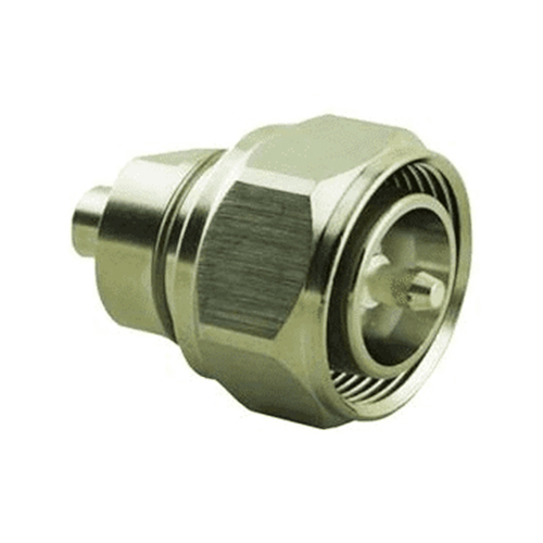 Product image of Times Microwave TC-402-4310M-LP Connector, 4.3/10 Male for TFT-402, Solder on Pin, Ind Sol Flange