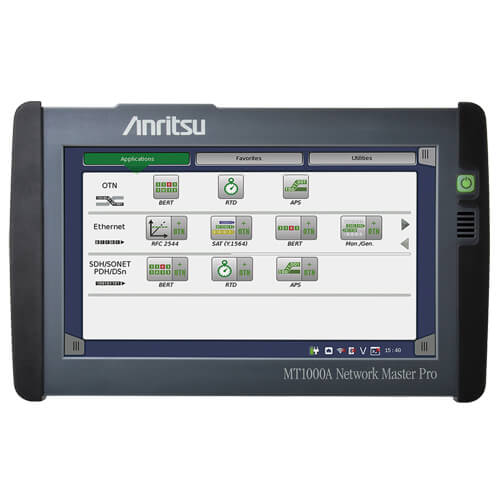 Product image of Anritsu MT1000A Network Master Pro Transport Tester, 1.5 Mbps to 10 Gbps