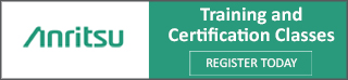 Anritsu Training and Certification - Talley, Inc. is proud to host an Anritsu Site Master® Training Course.