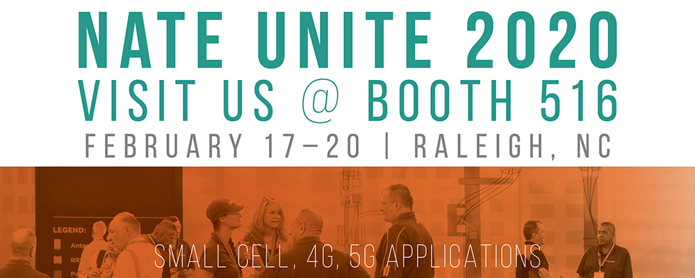 Visit us at NATE UNITE 2020, Booth #516