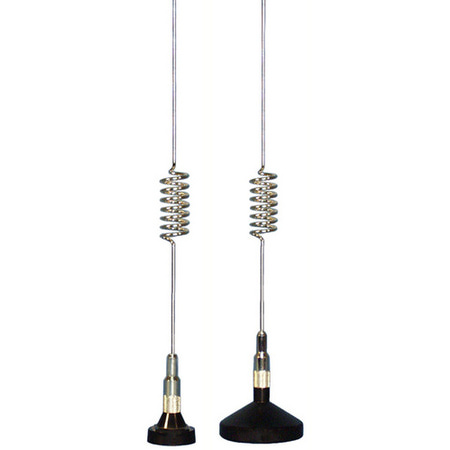 Product image of Comtelco A2143A-04 430-490 MHz 3dB Chrome Mag Mnt Antenna w/Loose Mini UHF