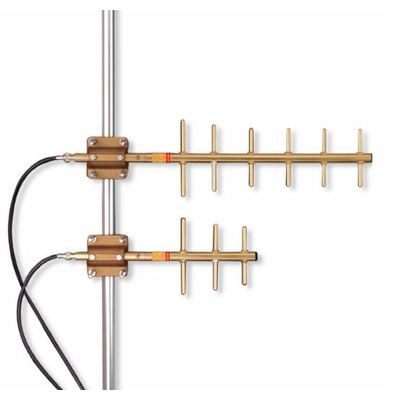 NEW Yagi Base Antenna UHF 450-470 MHz 6 Elements 10.2 dBd Gain W// Mount And ALL!