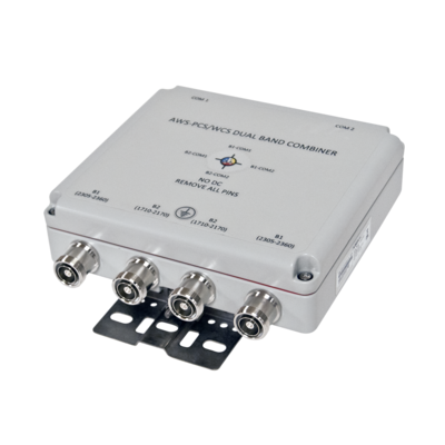 Product image of Kaelus DBC0062F1V51-1 1710-2170/2302-2690MHz Twin Dual Band Combiner w/DC Switch