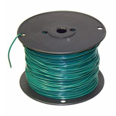 MT-584-G Republic Wire - #2 AWG THHN Green Jacket Stranded Ground ...