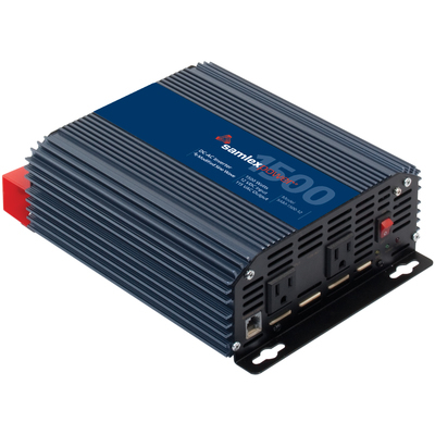 Product image of Samlex SAM-1500-12 12 VDC, 115 VAC, 1500 Watts Modified Sine Wave Inverter