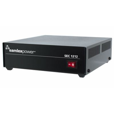 Product image of Samlex SEC-1212 12VDC 10Amp Switch-Mode Desktop Power Supply,120/240AC