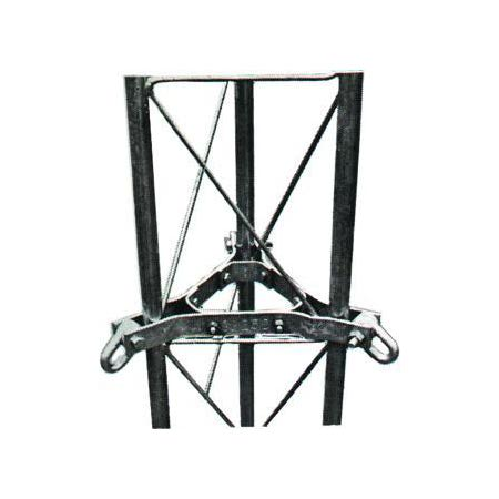 Product image of Rohn GA45GD Guy Wire Bracket Assembly for 45G Tower Sections