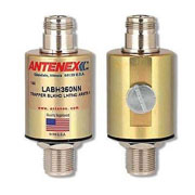 Laird LABH350NN Trapper Bulkhead Lightning Arrestor, N-Female to N-Female