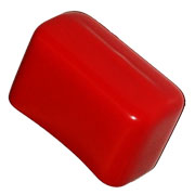 Cope PS-6153-5-RED Safety Cap for 7/8
