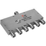 MECA 806-4-1.700V .698-2.7 GHz 6-Way Pwr Divider Combiner, N-Female Ports