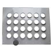 CommScope 204673-24 24-Port (4x6) Wall Entry Panel with 4