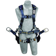 DBI Sala 1110302 Exofit™ XP Tower Harness 6 D-Ring QC Chest & Leg Straps, Large