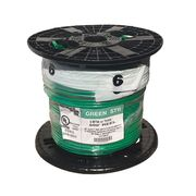 Republic Wire MT-586-G #6 AWG THHN Green Jacket Stranded Ground Wire