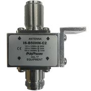 PolyPhaser IS-B50HN-C2 125-1000 MHz Bulkhead Mount High Power Coax Protector