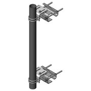 MTS Wireless PM-SU4-63 Universal Sliding Pipe Mount Kit with 4-1/2