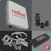 Redline Communications ENT-SU-3338IA-02 Enterprise XP 3.3-3.8GHz SU AC-POE 15dBi-Ant MNT