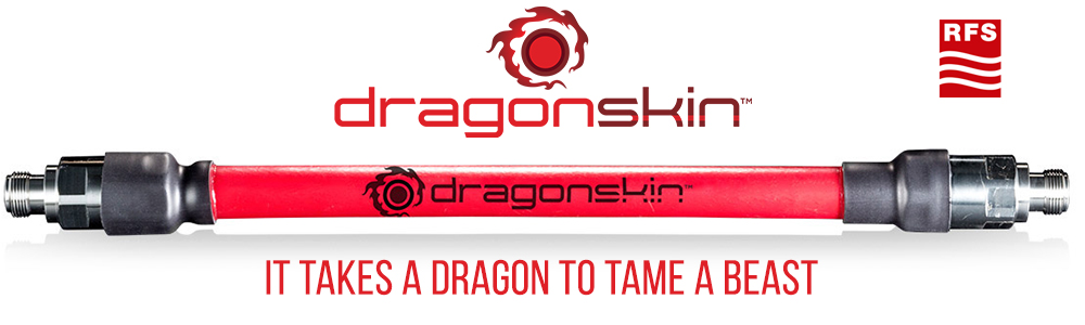 DragonSkin™ 1/2'' Fireproof Standalone Coaxial Cable, UL 2196 Certified